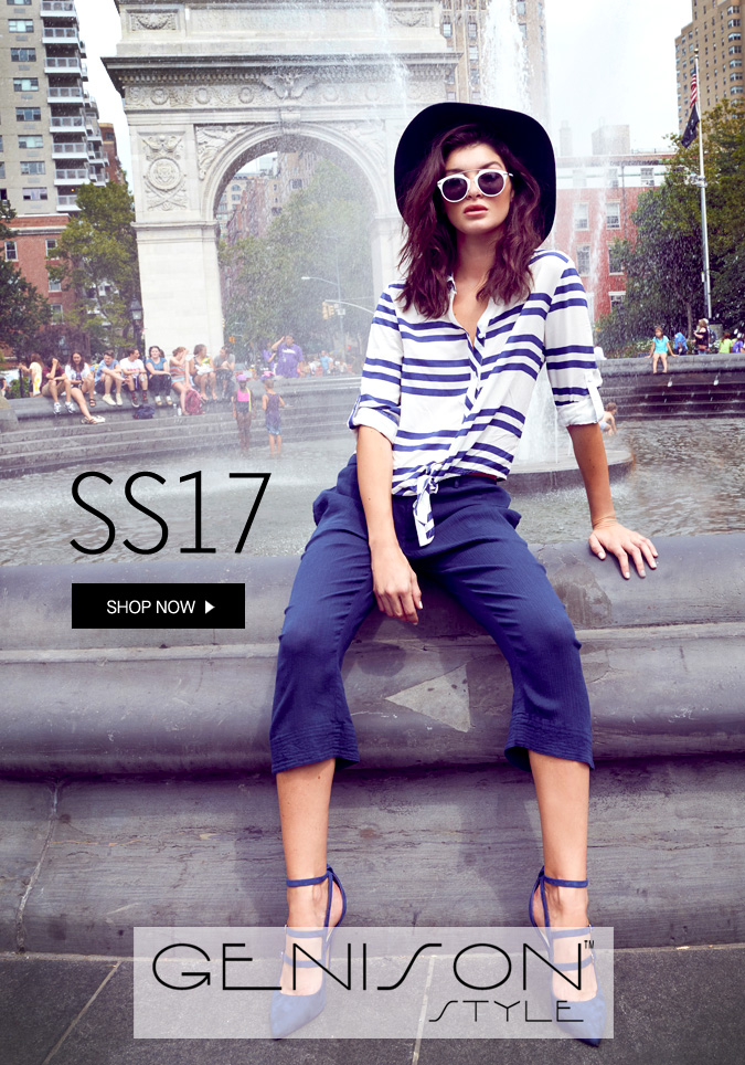 Genison style - Resort style women's wear, everyday essentials, smart casual.