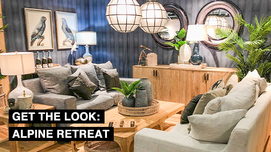 Get the look: Alpine Retreat