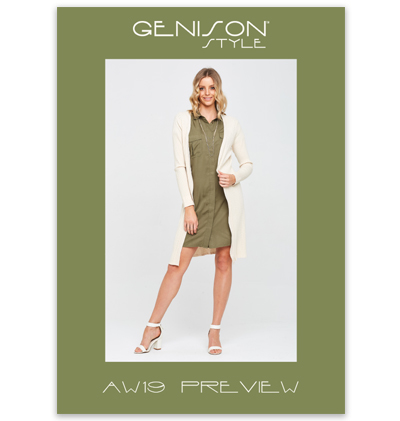 Genison Style Autumn Winter 2019 Fashion Preview