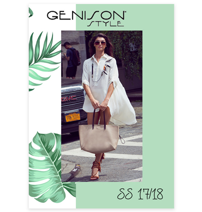Genison Style clothing lookbook spring summer 2017 collection