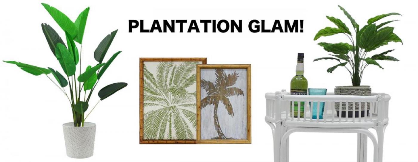 Plantation inspired decor and furniture wholesale available now