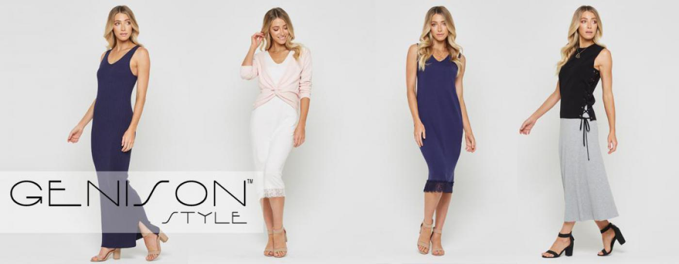 Discover Genison Style. Resort style women's wear. Wholesale fashion Brisbane, Wholesale women's clothes Australia