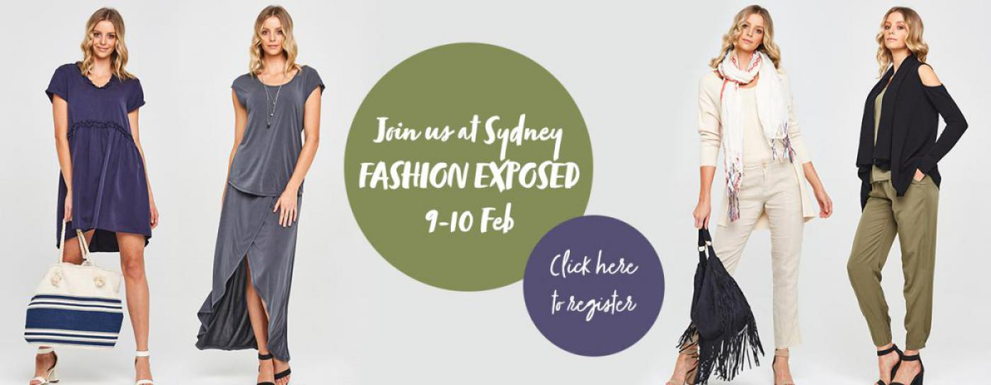 Join us at Fashion Exposed Now!