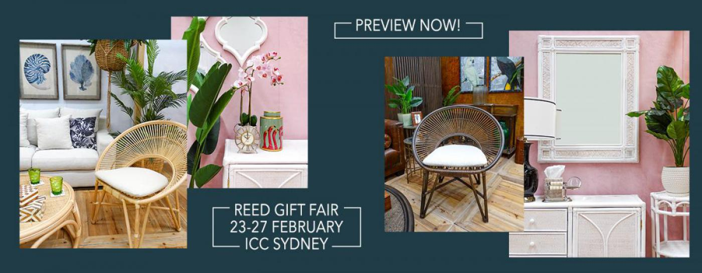 Preview now for Reed Gift Fair Sydney