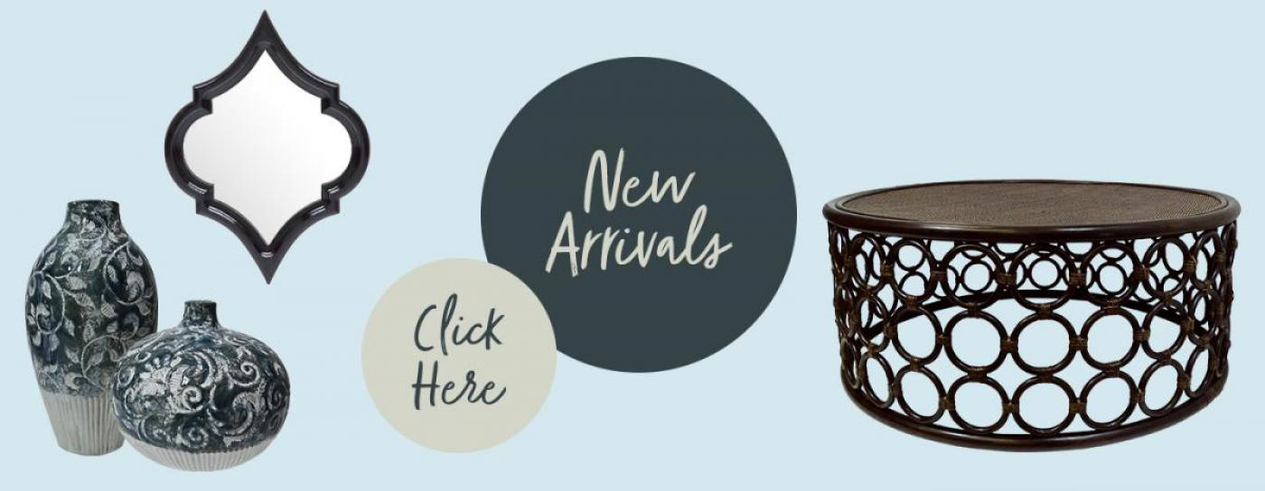 New furniture and decor arrivals here now!