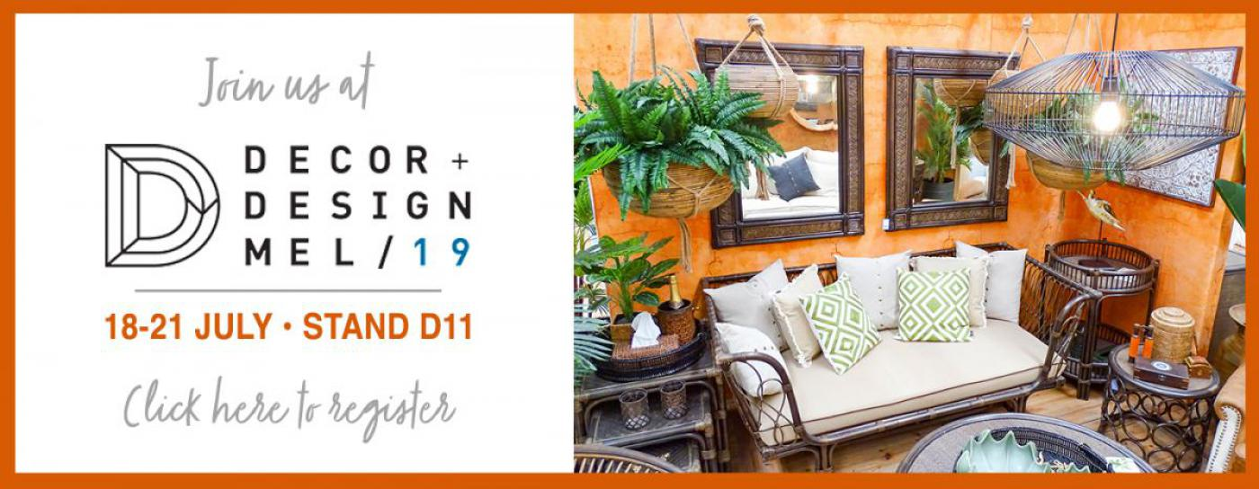 Join us at the Decor & Design Show in Melbourne | Searles Homewares Australia wholesale