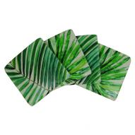 Palm Fronds Coasters Set of 4