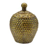 Carabeen Vase Decor with Lid 19.7cm