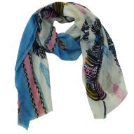 Scarf Feather Print