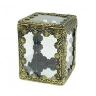 Filigree Trinket Box 12cmH