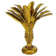 Travellers Palm Candle Holder Decor
