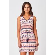 Raquel Dress Circle Print