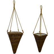 Harvest Hanging Basket Set of 2