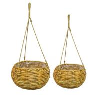Biscay Hanging Baskets Set of 2