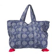 Beach Tote Bag w Tassles
