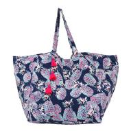 Blue Pineapple Tote Bag