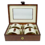 Geneve Leather Watch Box 24cmL