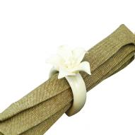 Napkin Ring Flower Pattern #2