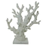 Coral Decor w Acrylic Base 33cmH