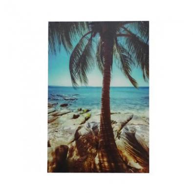 Coconut Shoreline Wall Print 80x120cmH