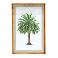 Canary Palm Wall Art 90cmH