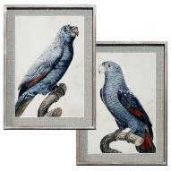 Perro Blue Wall Art Assorted