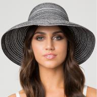 Curved Capeline Hat