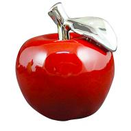 Apple Decor Shiny 11cmH