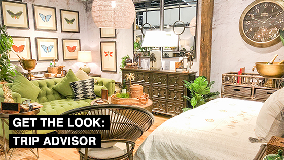 Get the look: Trip Advisor