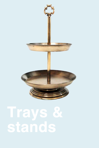 TRAYS & STANDS