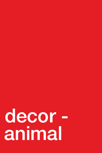 DECOR - ANIMAL