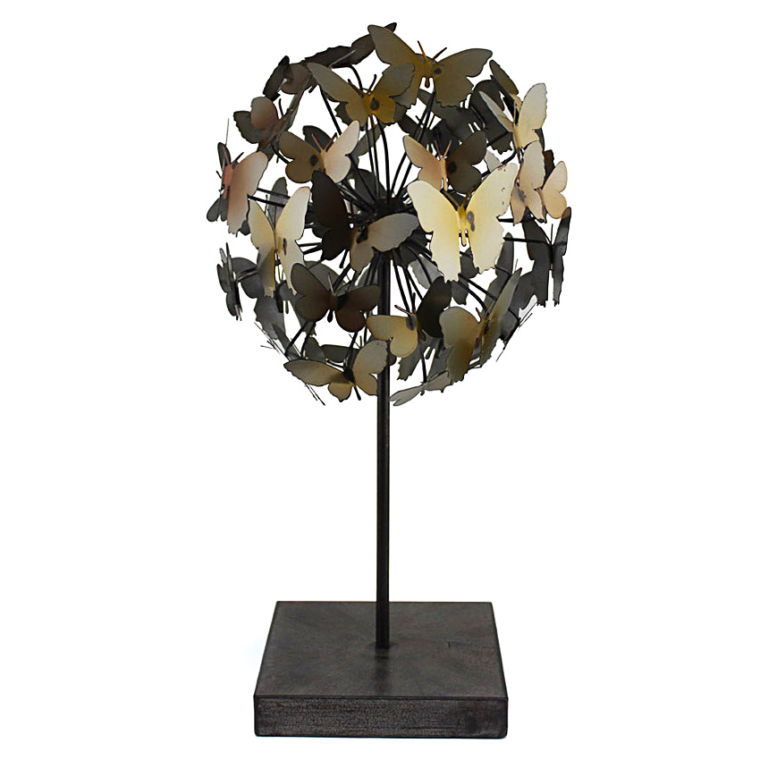 Butterfly ball decor 41cmh searles homewares for Homewares decorative items